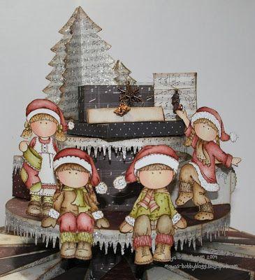 Mayas Hobbyblogg: DT hÄnglar & stÄnglar; julekalender / advent calender