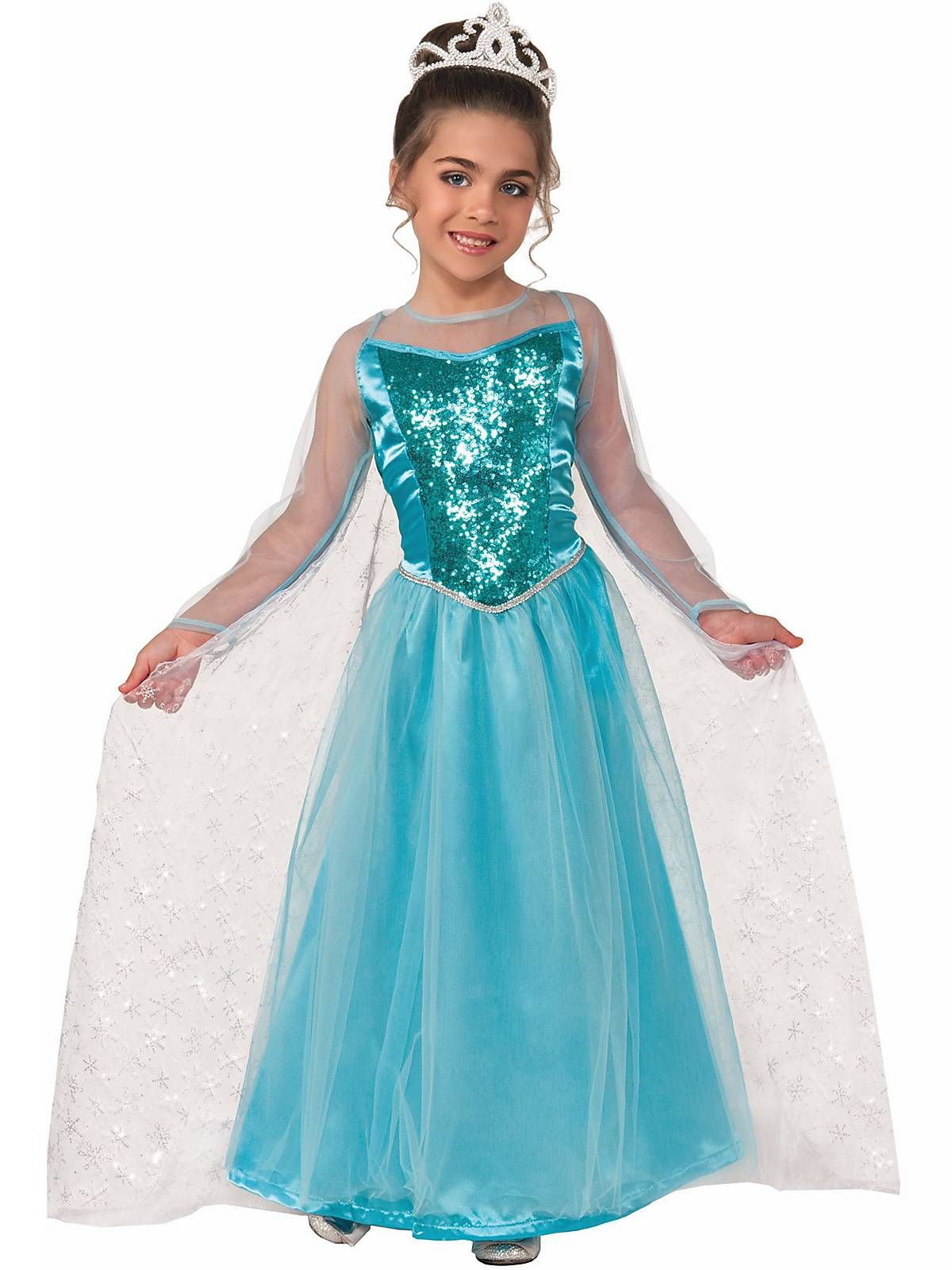 Girl\'s Princess Krystal Costume | Wholesale Princess Costumes for ...
