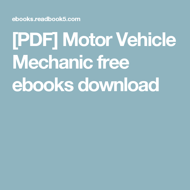 Pdf motor vehicle mechanic free ebooks download wheels pdf motor vehicle mechanic free ebooks download fandeluxe Image collections