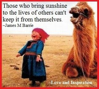 bring on the sunshine!