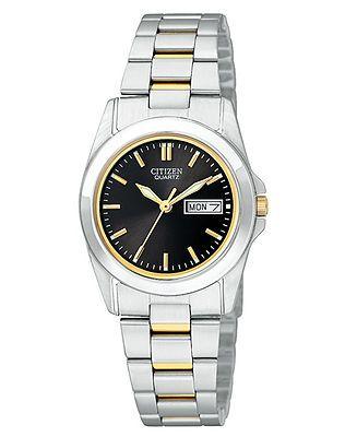 Citizen Watch, Women's Two Tone Stainless Steel Bracelet 28mm EQ05654-59E - Women's Watches - Jewelry & Watches - Macy's
