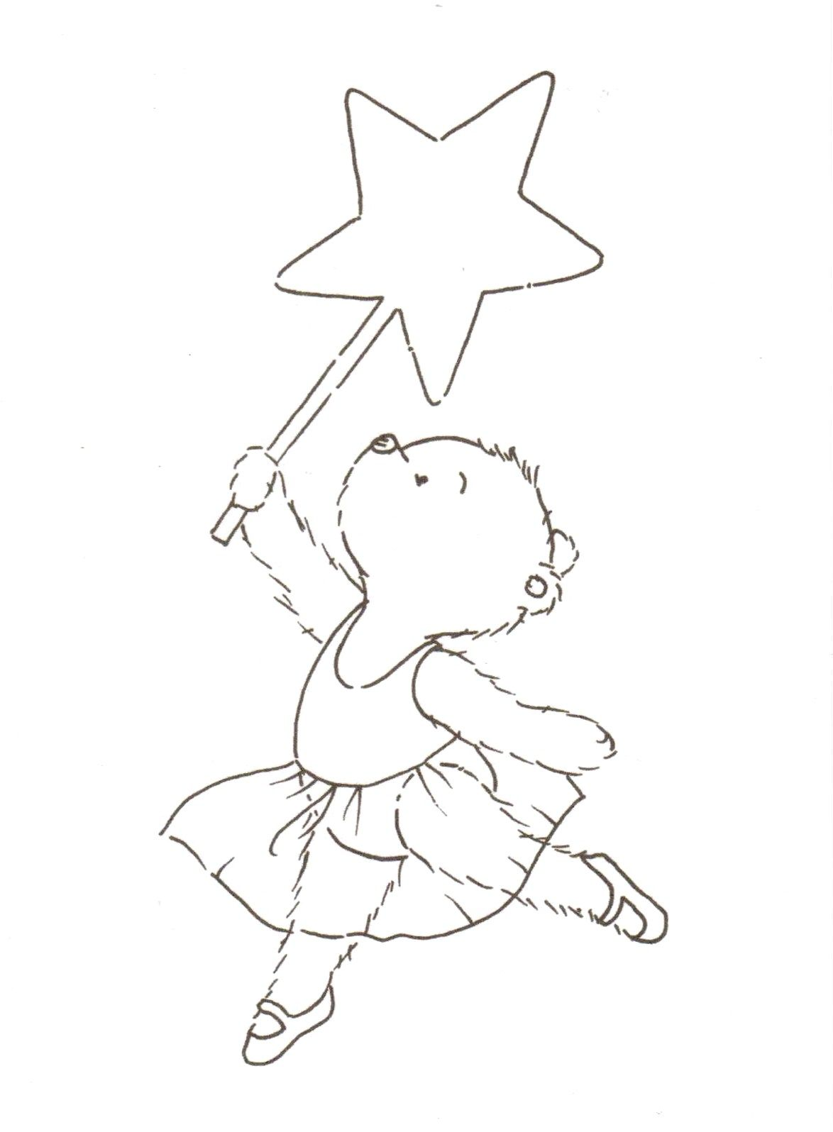 Dancing Bear Dance Coloring Pages Cute Coloring Pages Digi Stamps