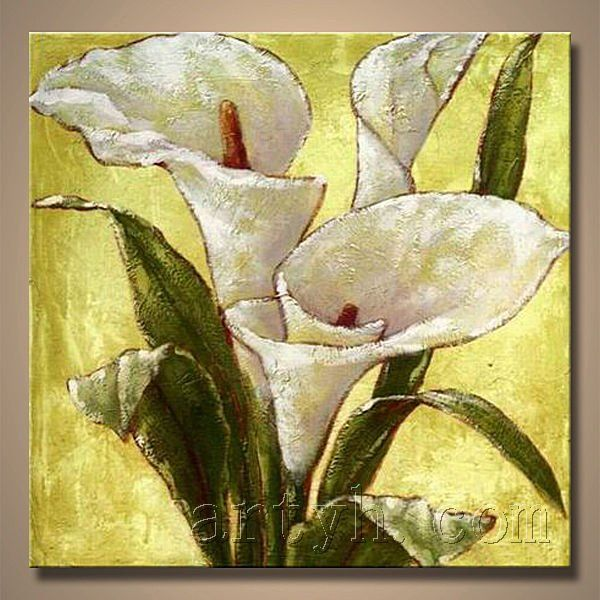 Calla Lily Oil Painting | Kaynak resimler | Pinterest ...