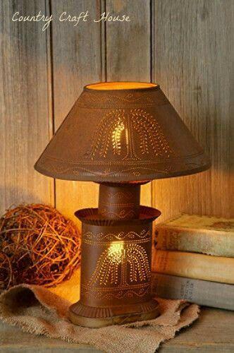Rustic Lighting Decorative Lighting Primitive Lighting Lighting Ideas Country Lamps Country Decor Country Furniture Country Style Country Living