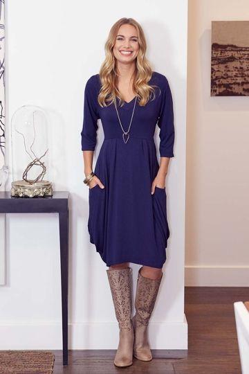 159a489e262 bird keepers The Pocket Tunic Dress - Womens Knee Length Dresses -  Birdsnest Online Store