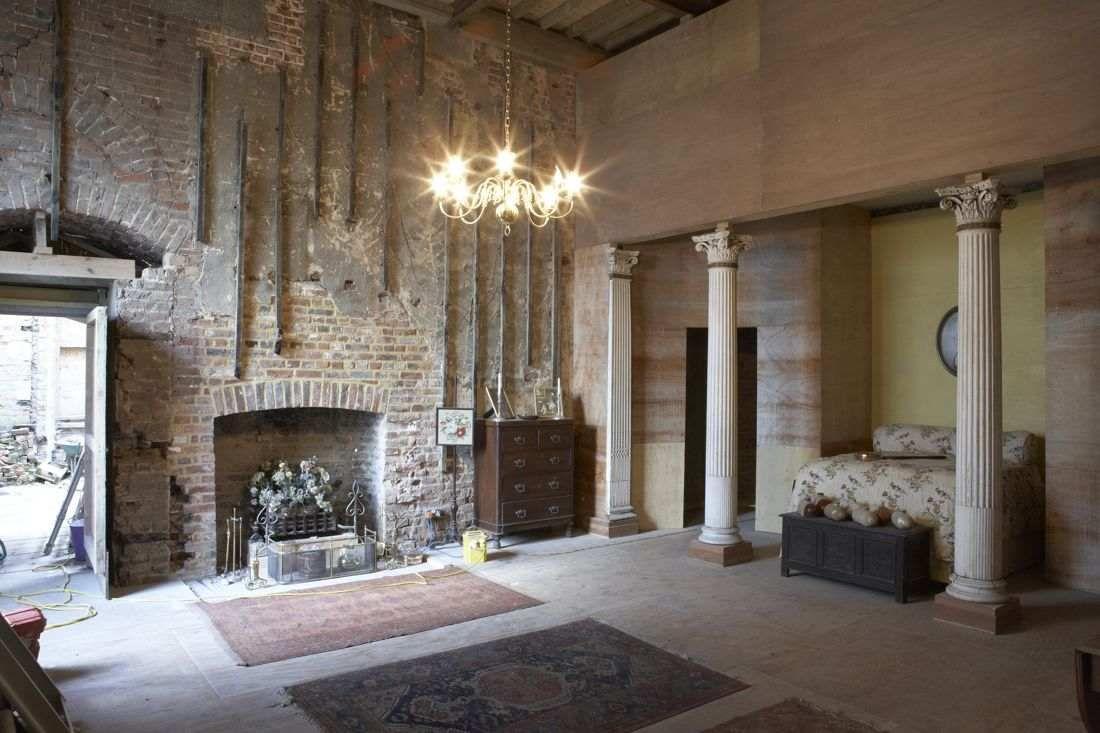 unique #interior #brick #loft #studio #ideas #meditation #area ...