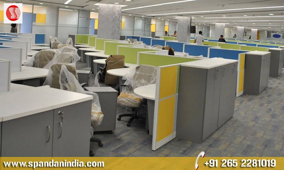 Modular Office Furniture Create a #workspace your employees want to escape to - not from. With our collection of #modern #modular #office_furniture, your workplace comes to life, inspiring productivity, creativity, and collaboration throughout the day. http://www.spandanindia.com/