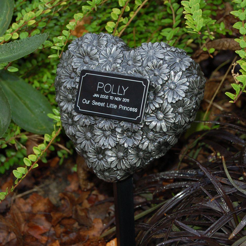 Cherish heart daisy pets remembered pet memorial