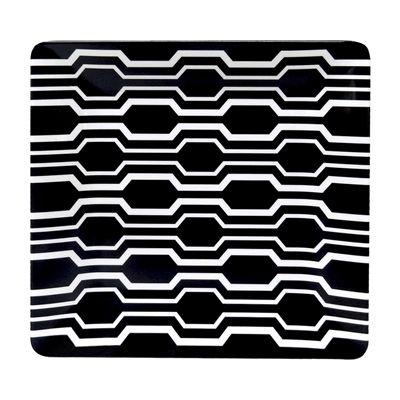 allen + roth 8.5-in Melamine Black Square Side Plate  sc 1 st  Pinterest & allen + roth 8.5-in Melamine Black Square Side Plate | *Kitchen ...