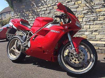 Ebay Red Ducati 916 Low Mileage Full History From Private