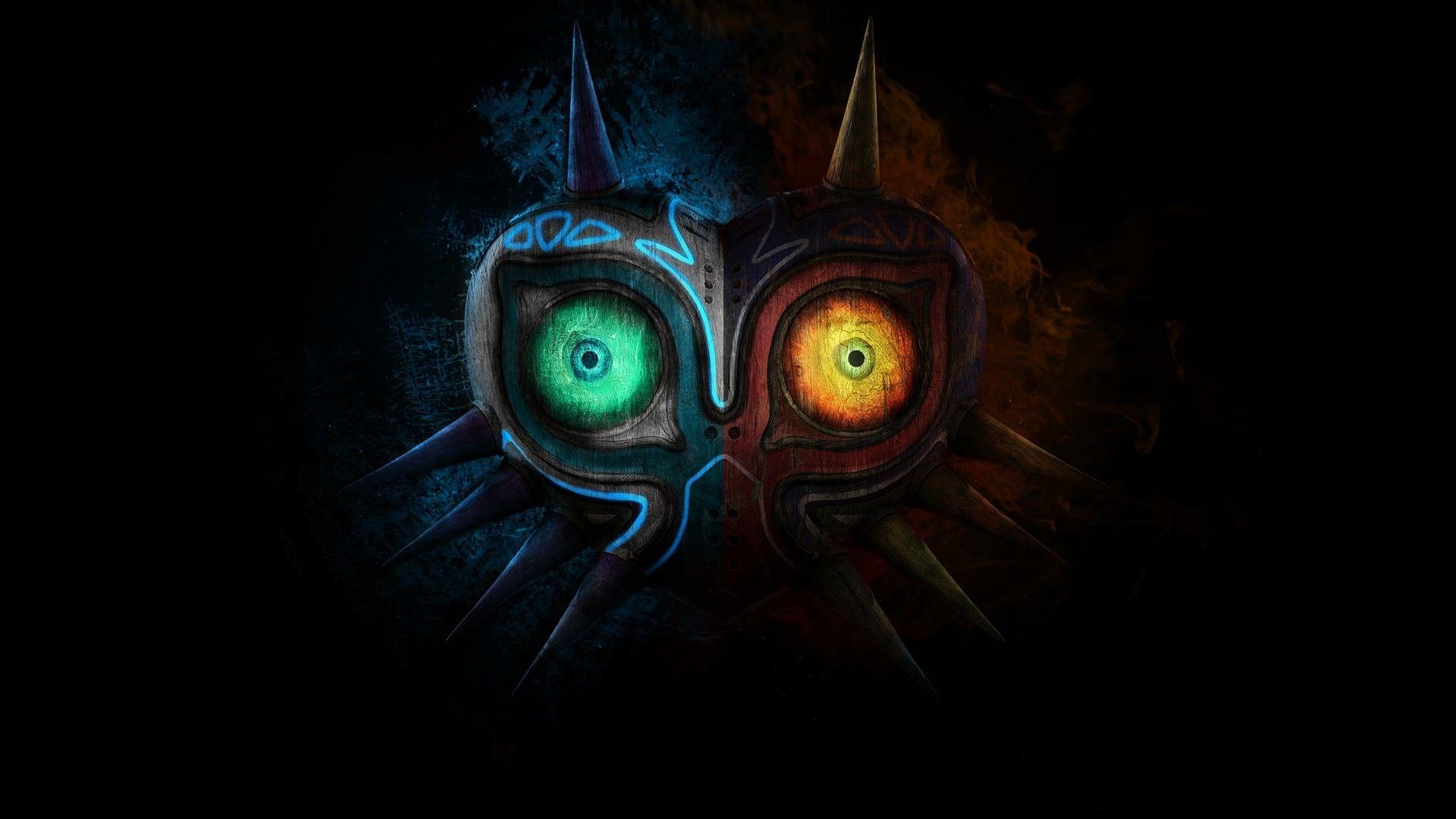 Top Collection Phone And Desktop Wallpaper Hd Zelda Art Legend Of Zelda Majoras Mask Art