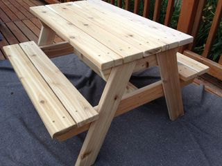 Kids Picnic Table Picnic Tables Picnics And Kids Picnic - Standard picnic table size