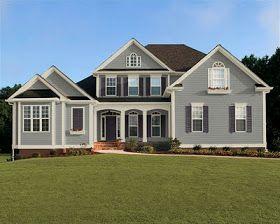 Modern Light Gray House 6