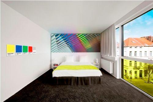 Pantone Hotel / Michel Penneman + Oliver Hannaert (5)