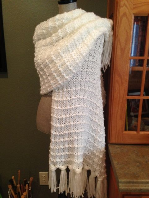 Waffle Stitch Prayer Shawl Knitting Pinterest Prayer Shawl