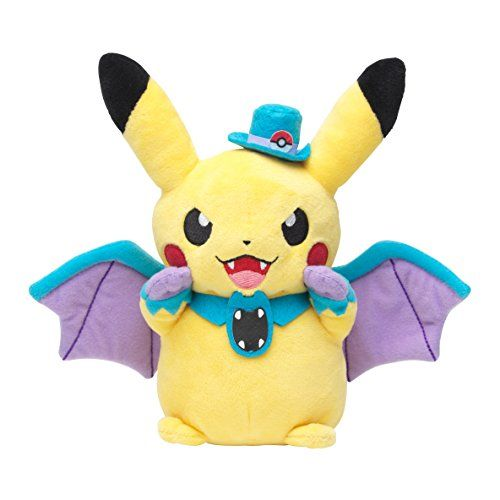 Pokemon Center Original Pikachu Plush Doll (Golbat Ver.) Halloween ...