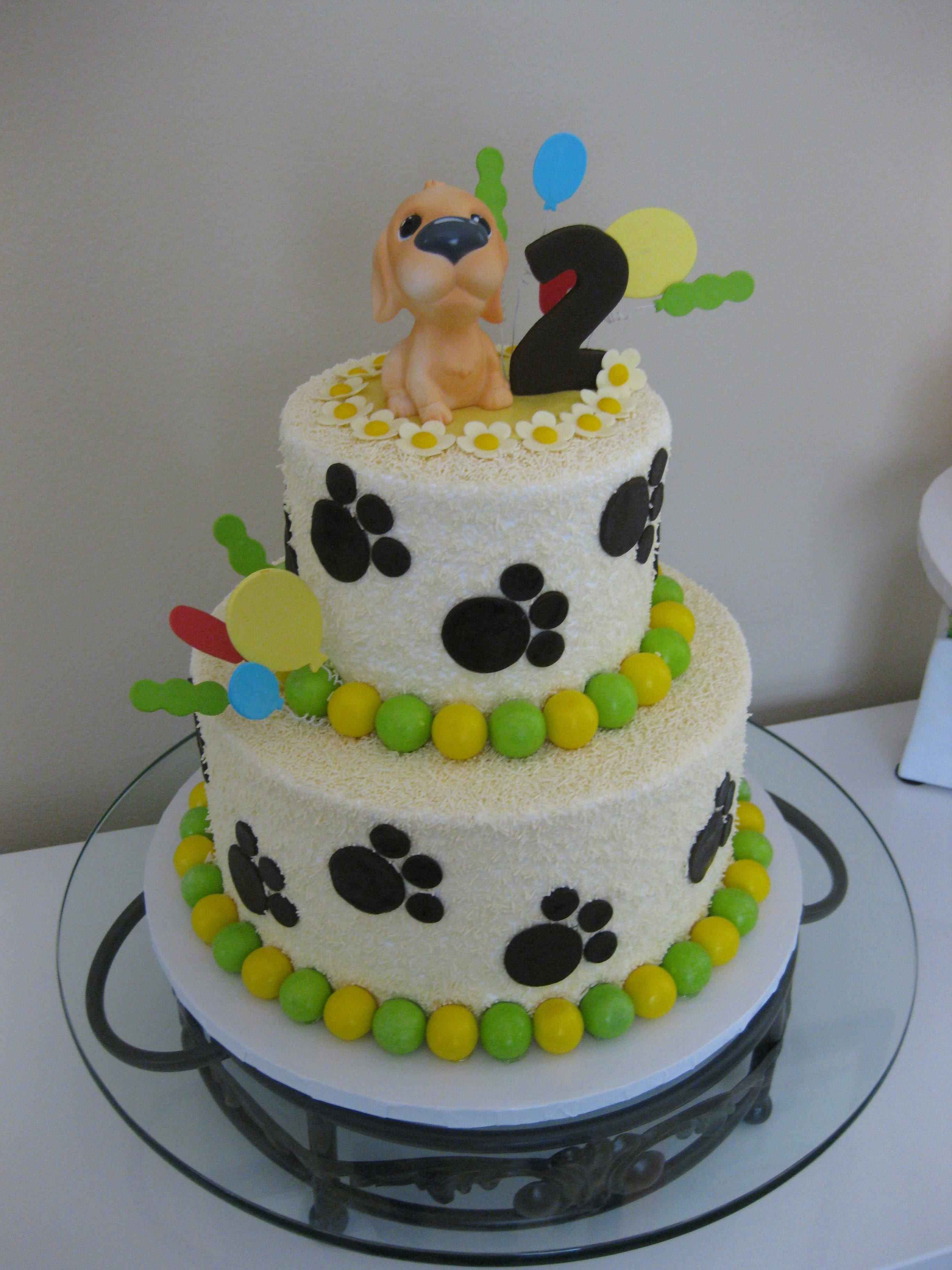 Birthday cake for a little boy...