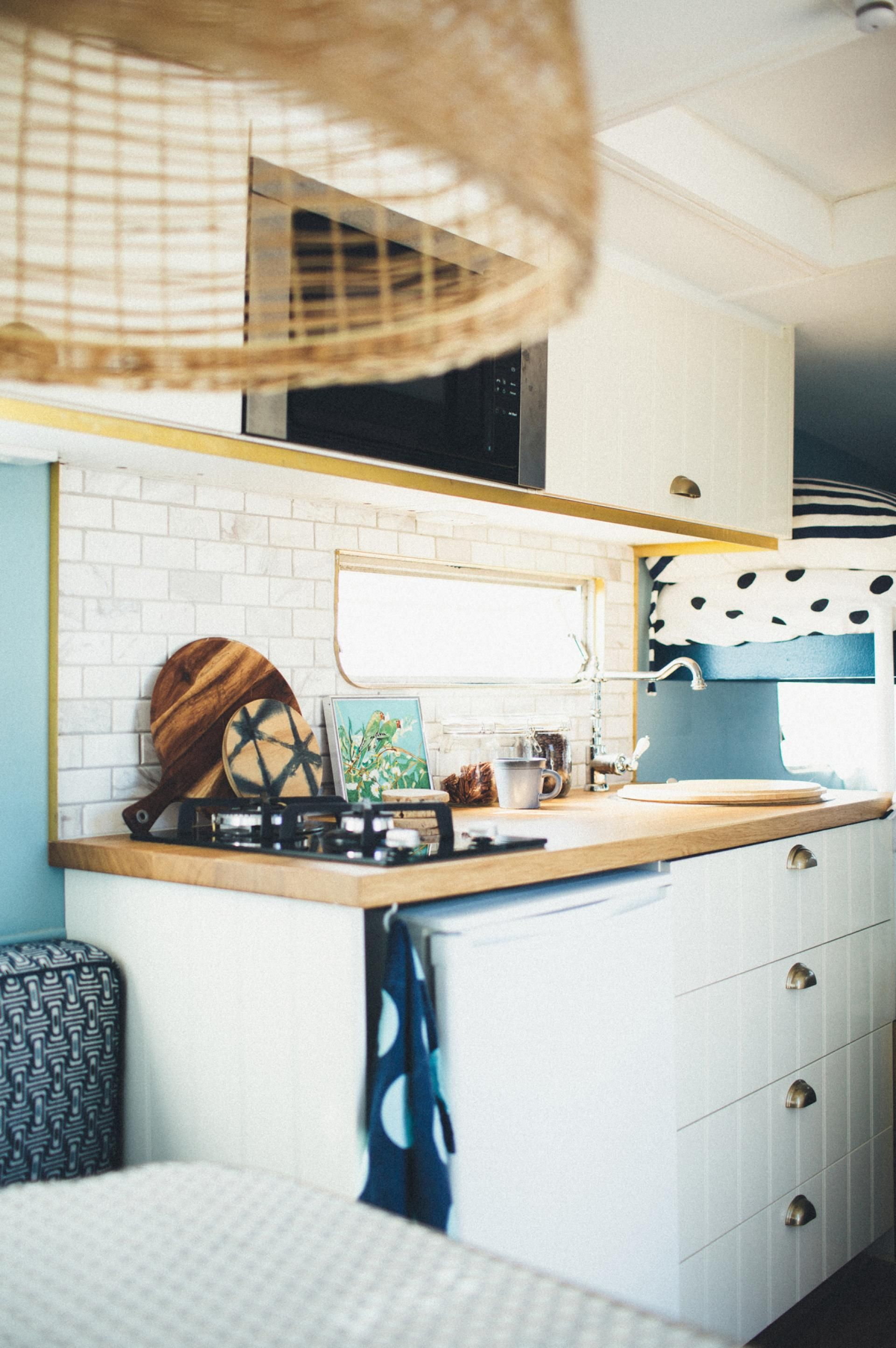 Caravan renovation: The Block\'s Michael & Carlene unveil their home ...