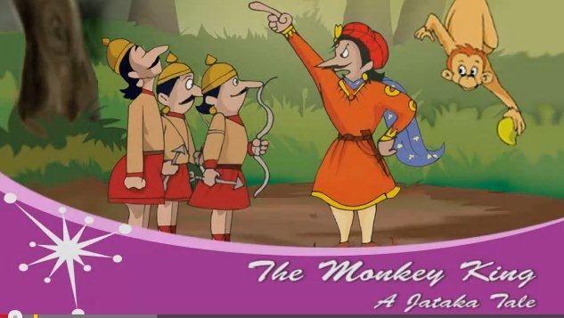 The Monkey Tale: A Jataka Tale
