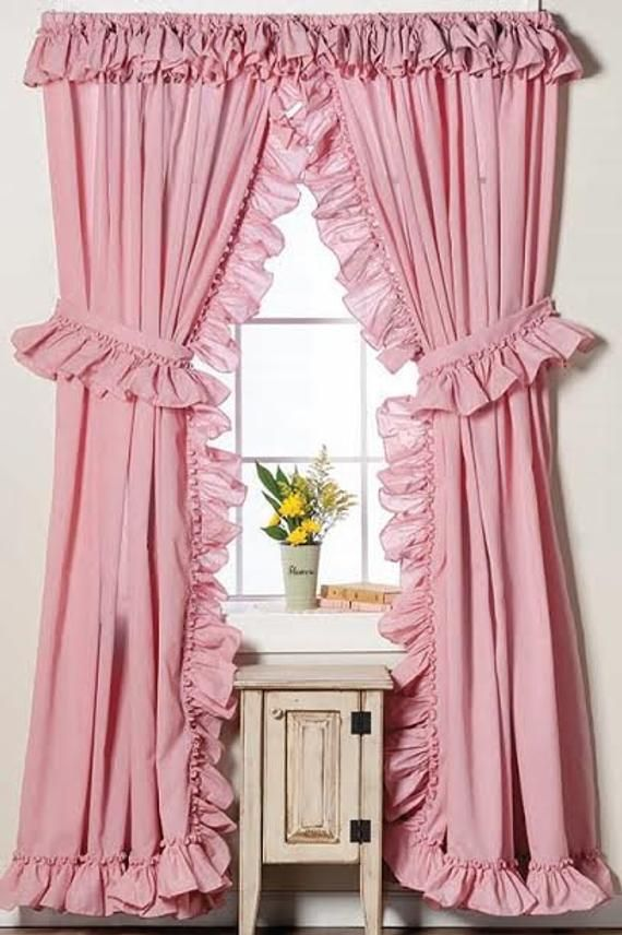 Pin On Ruffle Curtains