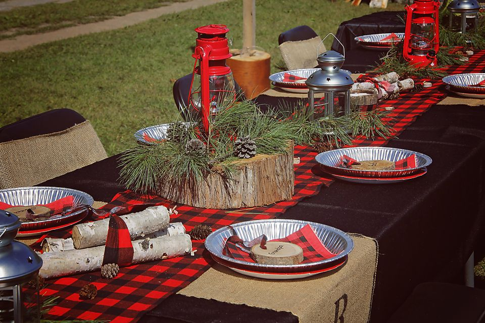 Lumberjack Birthday Party (With images) Lumberjack