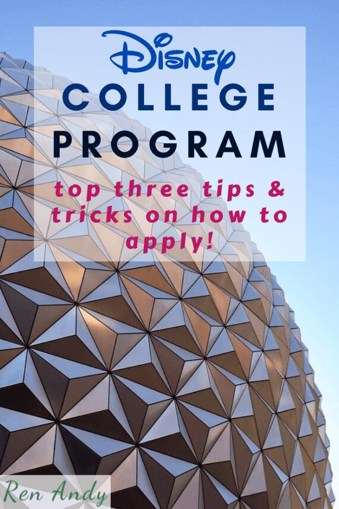 41a5f7eebf7736f7ae4b95b2fe182ac8 - Disney College Program Spring 2018 Application