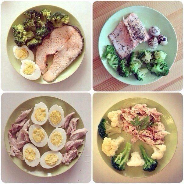 Завтрак во время белковой диеты