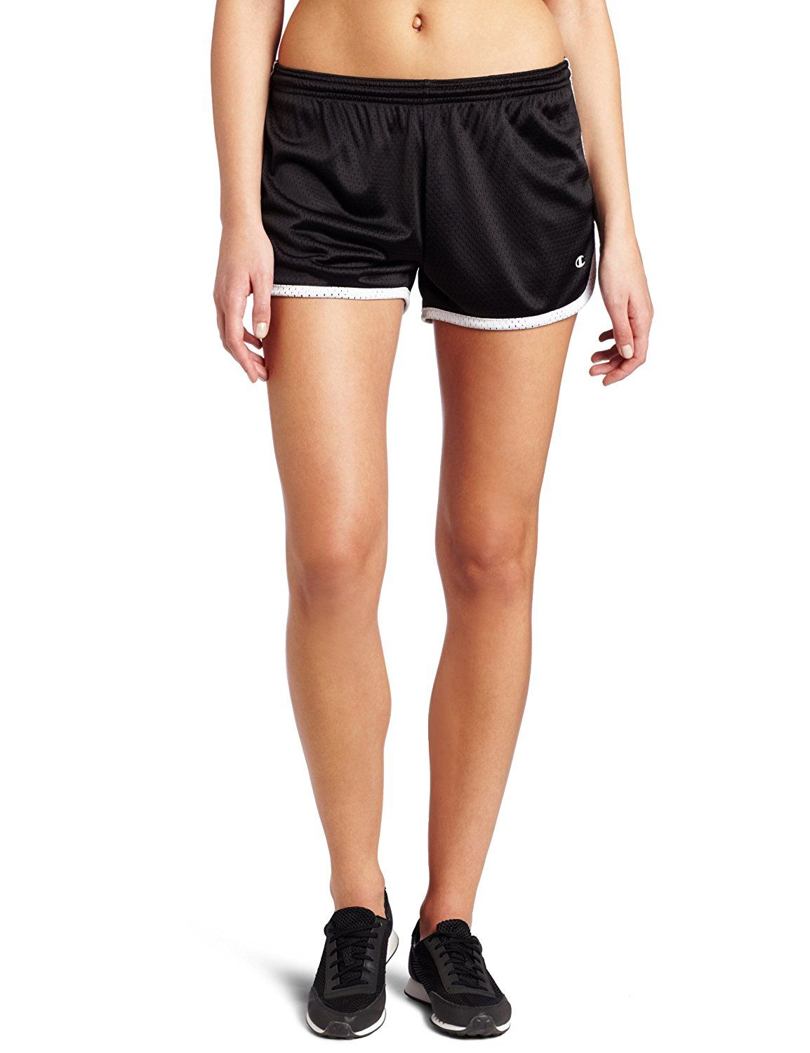 d0e1543bf39b Champion Women s Mesh Hot Short at Amazon Women s Clothing store  Athletic  Shorts