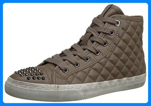 olika stilar bästa stället ny livsstil Geox D WINTER CLUB B D34A1B000BCC6029, Damen Sneaker, Braun (TAUPE ...