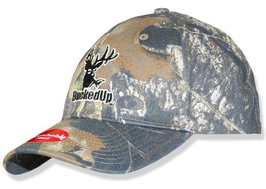 90b05595 $19.99 BuckedUp Logo Mossy Oak Proflex Fitted Hat www.buckedupapparel.com