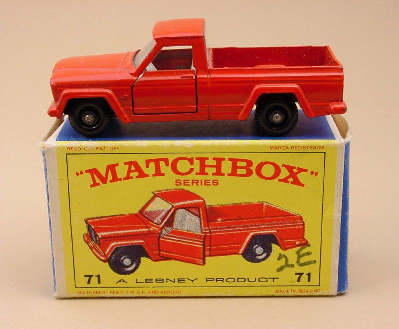 Matchbox No 71 Kaiser Jeep Gladiator Pickup When I Was About 7