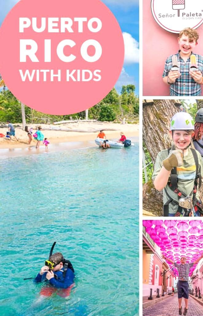 Puerto Rico with Kids can be so much fun! With beaches ...