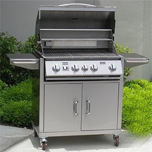 Costco - Urban Islands 4-burner Barbeque Cart | Patio | Bbq