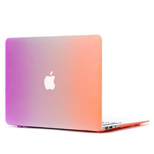 "Hard Case for Macbook Pro 13"",Case for Macbook Pro,Case for Macbook 13"",Nsstar Colorful Contrast Color Matte Surface Crystal Hard Shell Case Cover Protector for Apple Macbook Pro 13.3"" A1278 (Purple+Orange) NSSTAR http://www.amazon.com/dp/B00OZNFPYO/ref=cm_sw_r_pi_dp_x-iWub13VXKQ9"