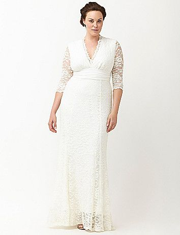 1f17b41f9dd Kiyonna Amour lace wedding dress by Kiyonna