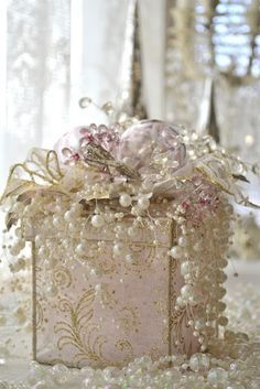 Gift Boxes Decor Boxes Christmas Presents Shabby Chic Tissue Boxes Gift · Decorated BoxesWrapping IdeasWrapping ... & Gift Boxes Decor Boxes Christmas Presents Shabby Chic Tissue ...