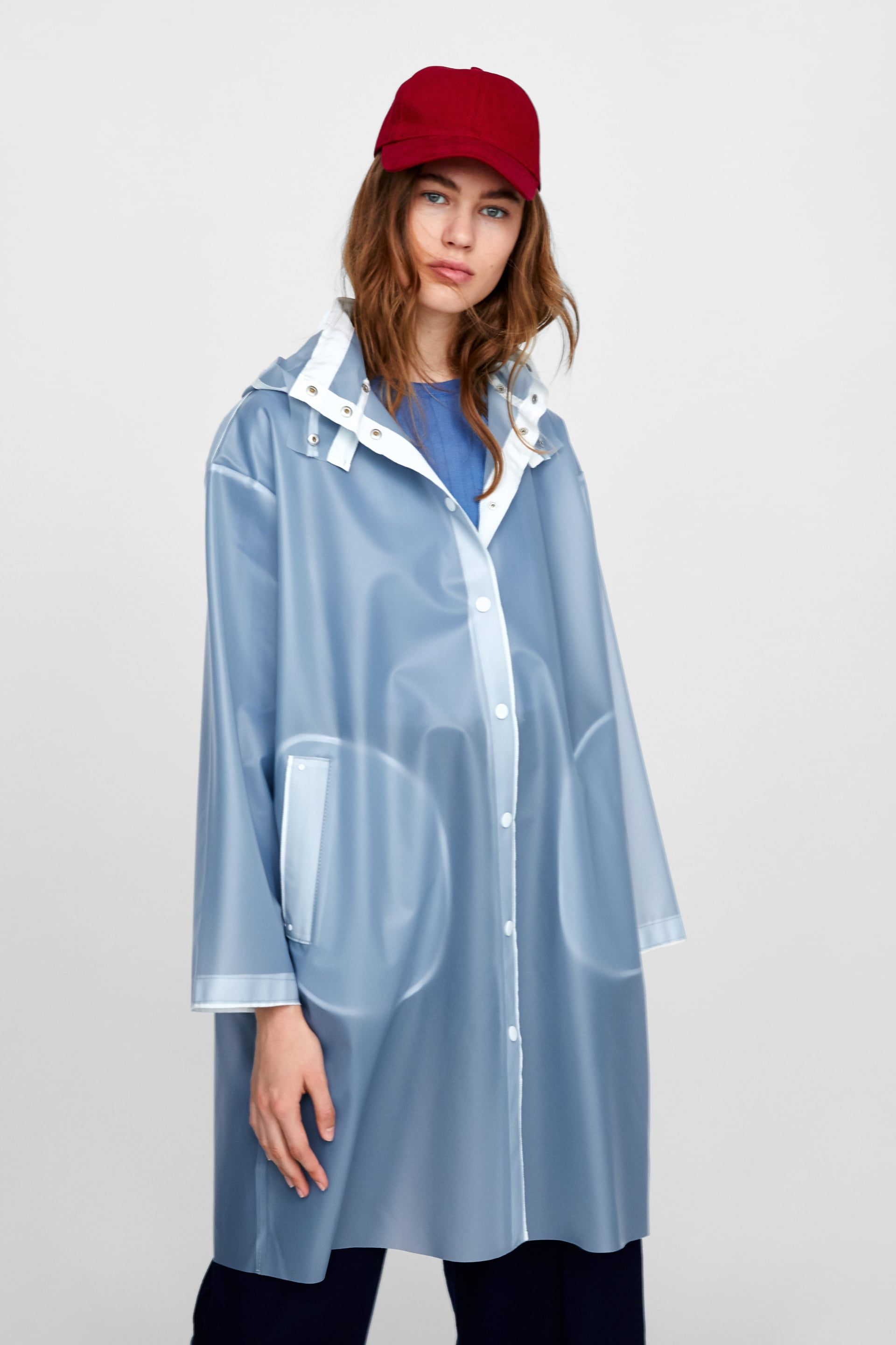 low price Buy Authentic authorized site Image 2 of TRANSPARENT RAINCOAT from Zara | Women's fashion ...