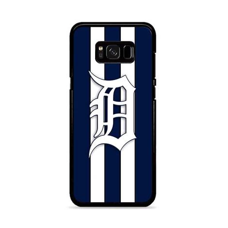Detroit Tigers Stripe Logo Wallpaper Samsung Galaxy S8 Plus Miloscase