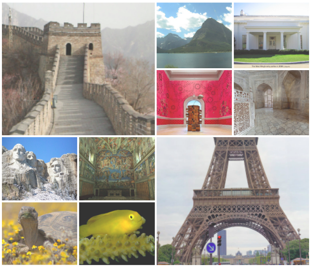 Links to various cites that allow you to virtually tour museums and landmarks.