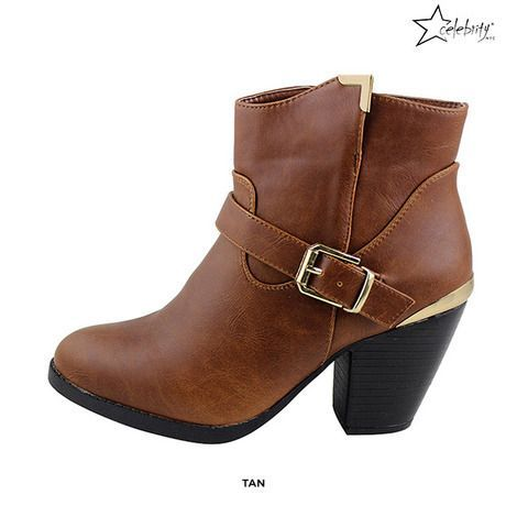 Celebrity NYC Zina Ankle Boots - Assorted Colors at 49% Savings off Retail!