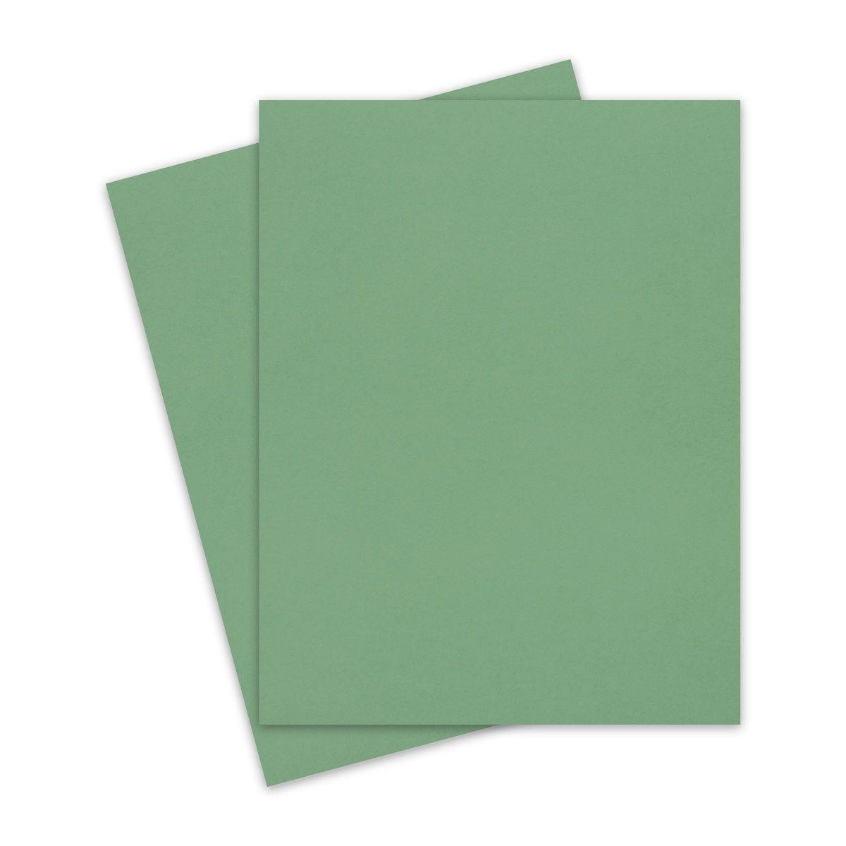 Matcha Tea Keaykolour 8 5x11 Letter Size Cardstock Paper 111lb Cover 25 Pk Letter Size Paper Cover Paper Cardstock Paper