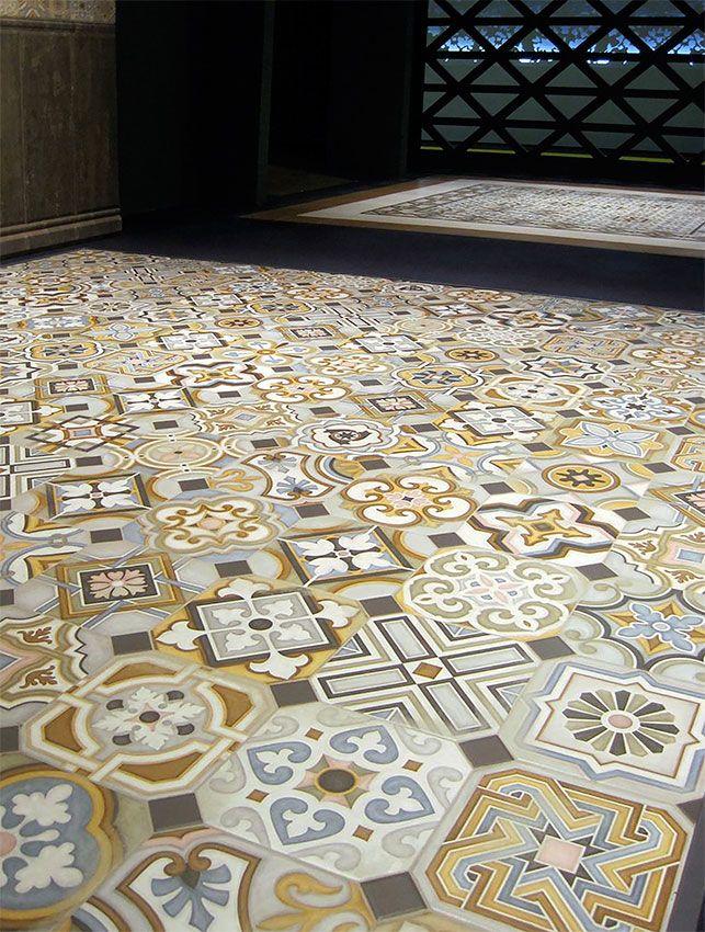 Vives Music Hall Vodevil Cementtiles Carreauxdeciment Ciment Sol Gres