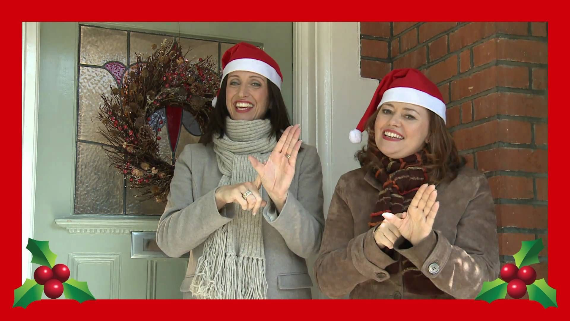 Singing Hands We Wish You A Merry Christmas With Makaton Sign Language For Kids Sign Language Songs Makaton Signs