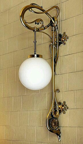 en Bafcelona | Art nouveau lighting, Art deco lighting, Art