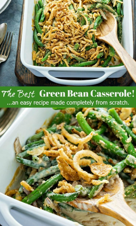 The Best Green Bean Casserole | A 5 Star Easy Recipe!