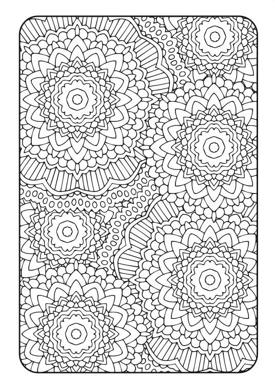 Adult Coloring Book | Art Therapy Volume 3 - Printable ...