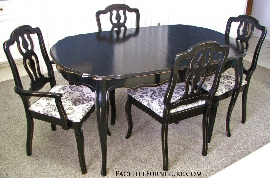 French Provincial Dining Set Dining Room Furniture Makeover