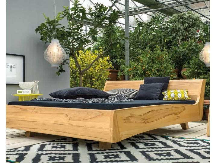 Dormiente Massivholz Bett Balena Kirschbaum 140x200 Cm Home