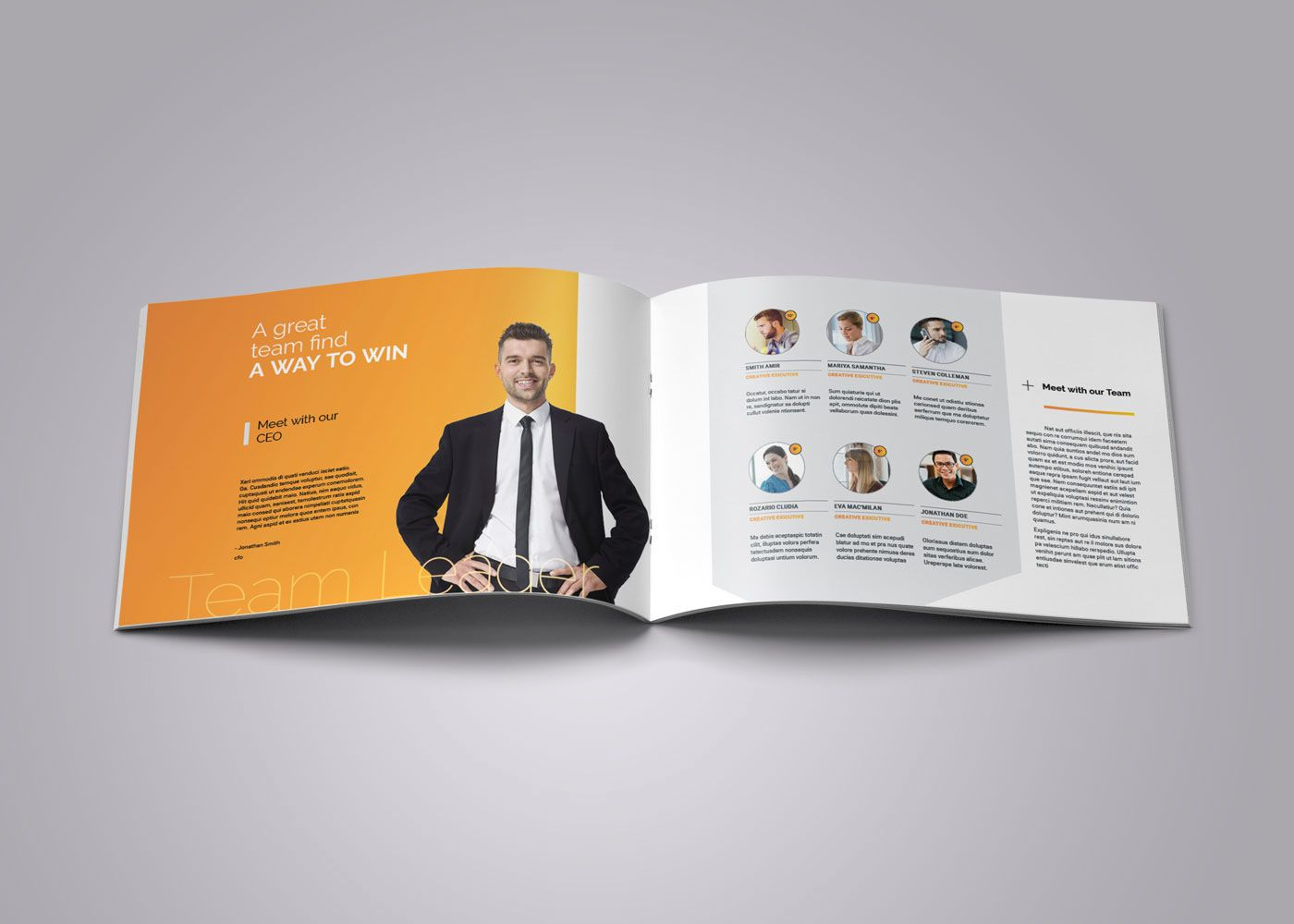 Best Tri Fold Brochure Images On   Page Layout