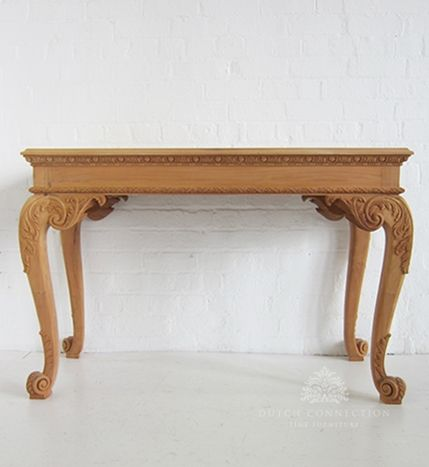 Wooden Hall Tables chippendale style hall table / chippendale hall table scroll foot